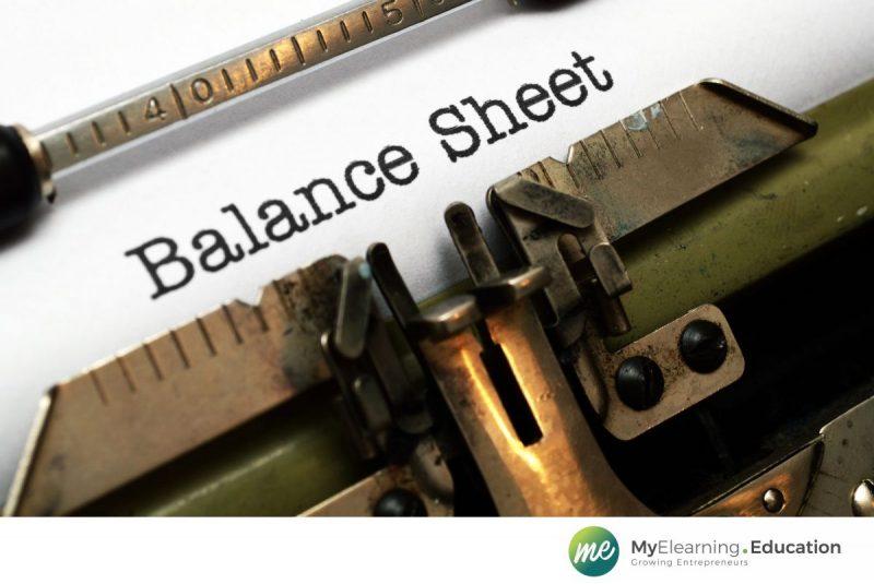 Balance sheet fixed assets